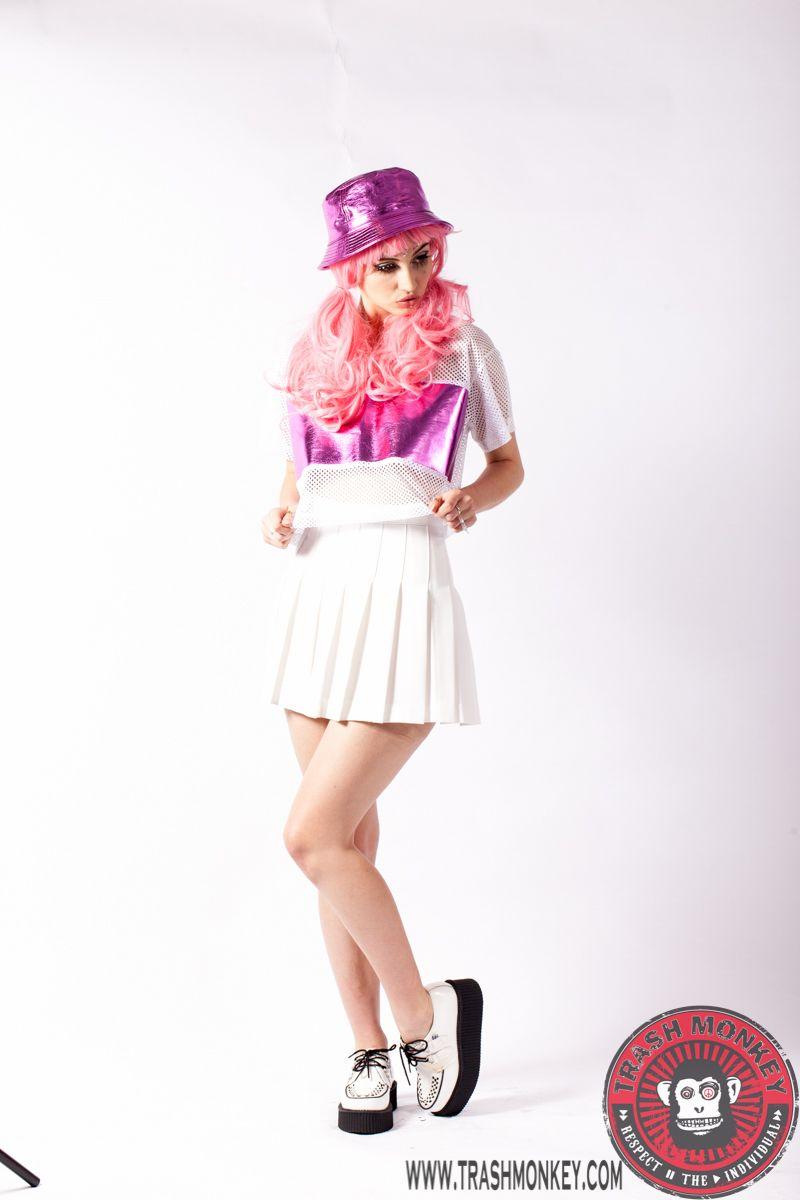 Womens Pleated Netball Skirts - raveitsafe