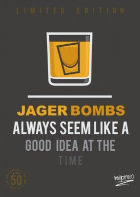 101 Facts About Alcohol Art Prints On Metal By Mip 1980 Alcohol Facts Jager Bomb Alcohol