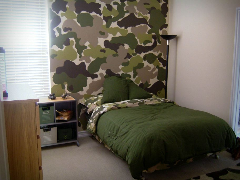 30 Most Wonderful Army Bedroom Design Ideas Freshouz Com Camo