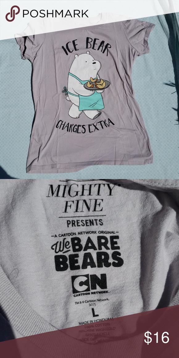 Ice Bear Shirt This Hot Topic We Bare Bears shirt is NWOT