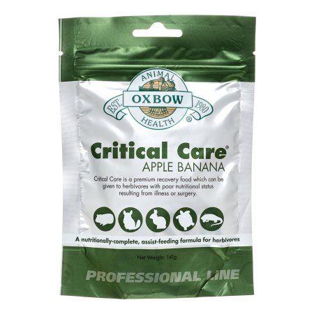 Oxbow Critical Care Small Animal Food Apple Banana 4 9