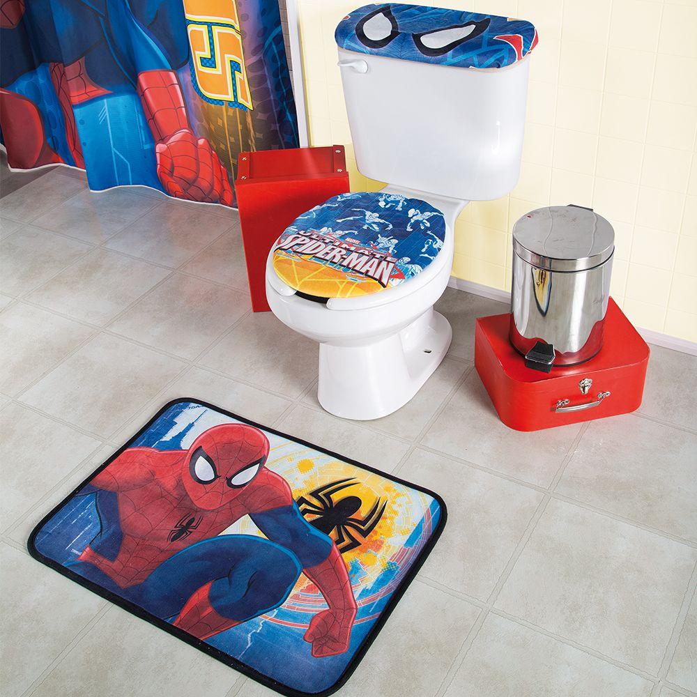 Juego de Baño Hombre Araña #Baño #Niños #juegosdebaño # ...
