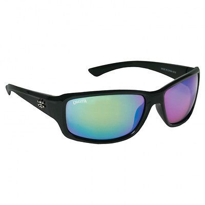 e8c82b13d6 Calcutta Fishing Outrigger Black Frame Green Mirror Lens Polarized  Sunglasses