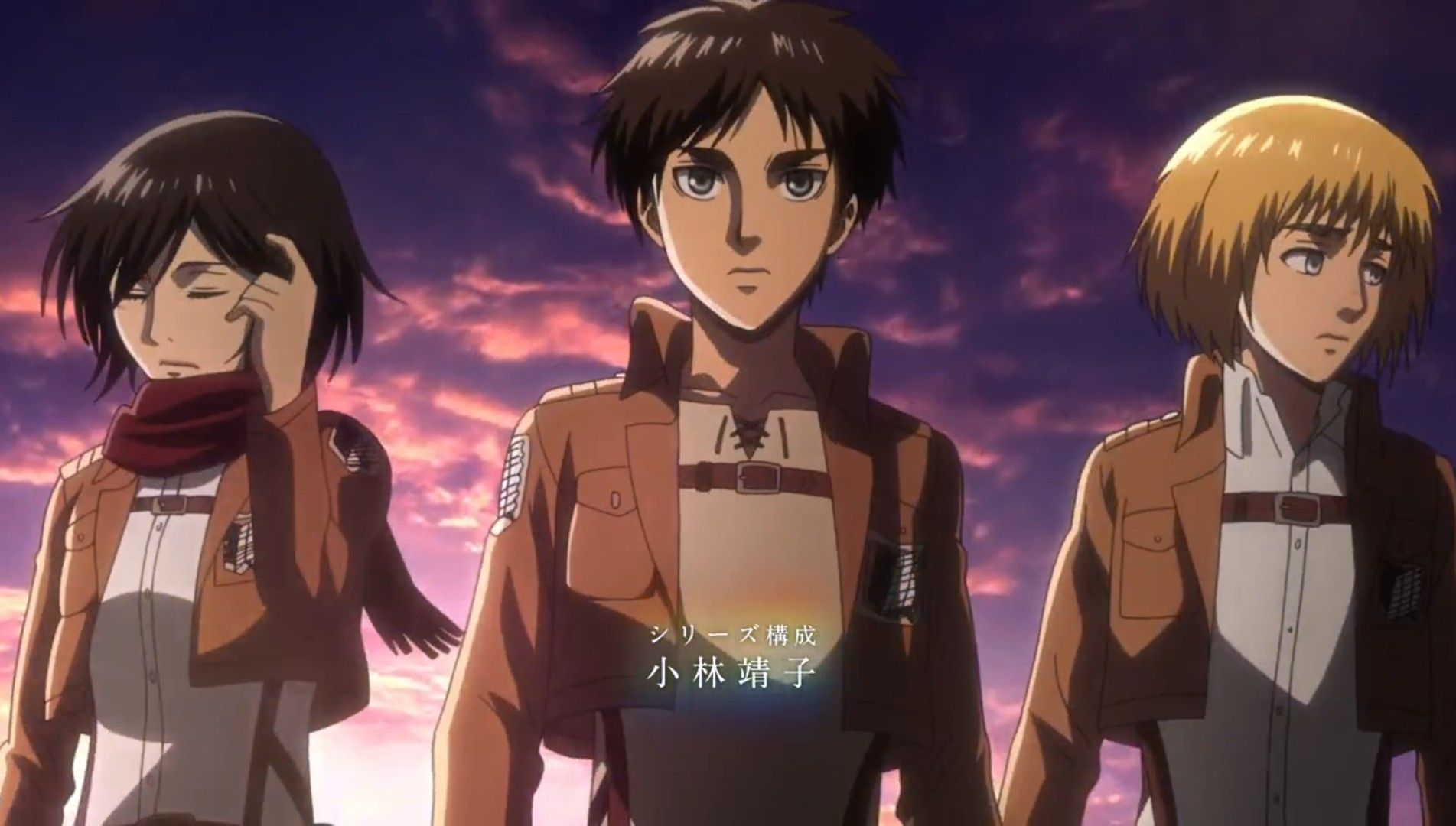 The acclaimed anime tv series surprisingly didn't end with its 75th episode, so what's happening? Attack on Titan season three opening   Attack on titan anime