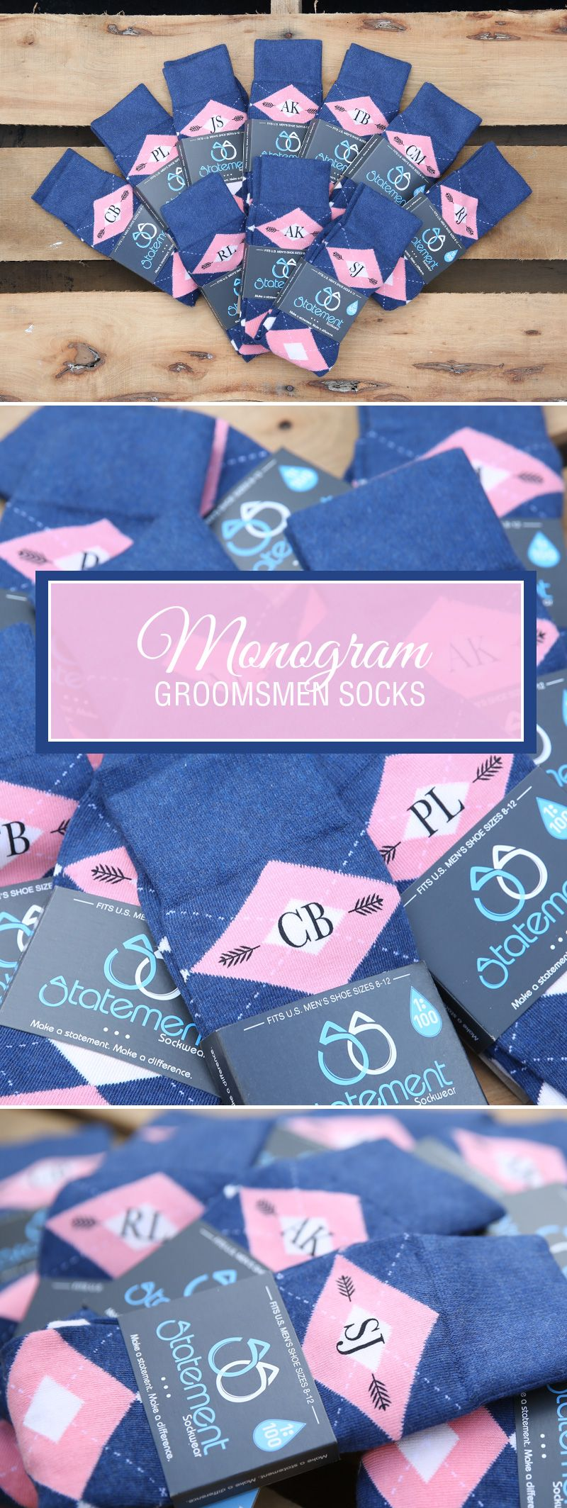 f92b2bbeb0b5 Our flamingo blush petal pink and navy groomsmen dress socks are one of our  personal favorites. The classy combination of navy and pink offers the  perfect ...