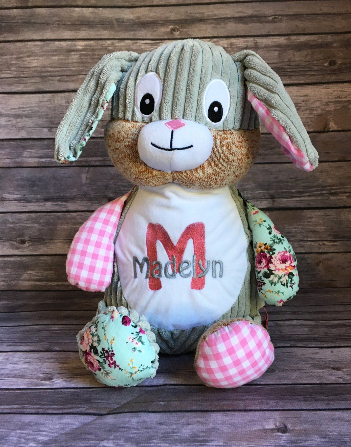Personalized Cubbie Stuffed Animal Baby gifts