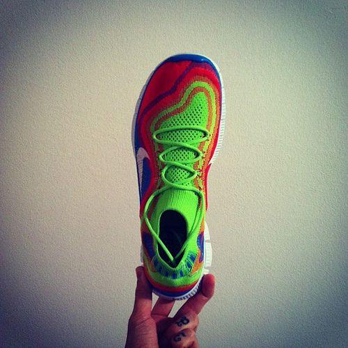 Nike Free Flyknit+ #flyknit #makeitcount #nike #nikefree #nikerunning #runfree #running