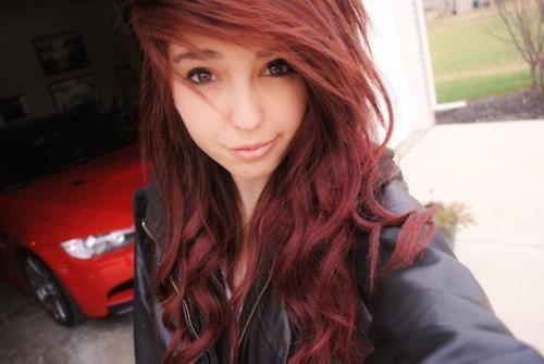 1000 images about acajou on pinterest red hair hair color and plan de travail - Coloration Rouge Acajou