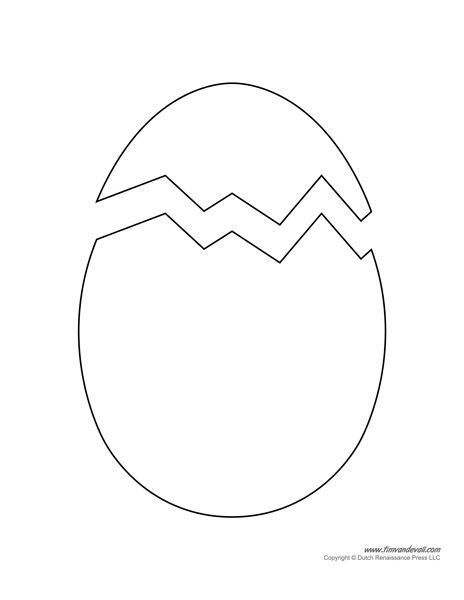 easter egg printable | crafts | pinterest | more easter egg ... - Easter Egg Coloring Page Template