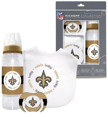 New Orleans Saints Baby Fanatic Baby Gift Set