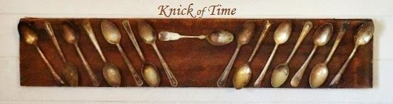 Ironstone & Tarnished Spoons Displays - Knick of Time