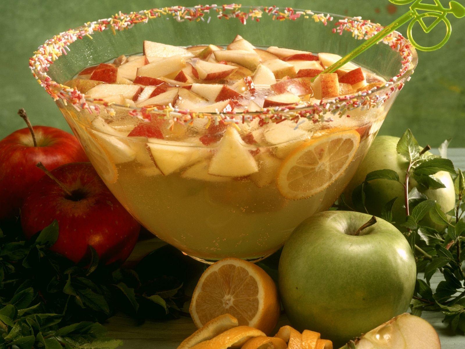 Apfelbowle   Rezept   Pinterest   30er, Getränke und Silvester