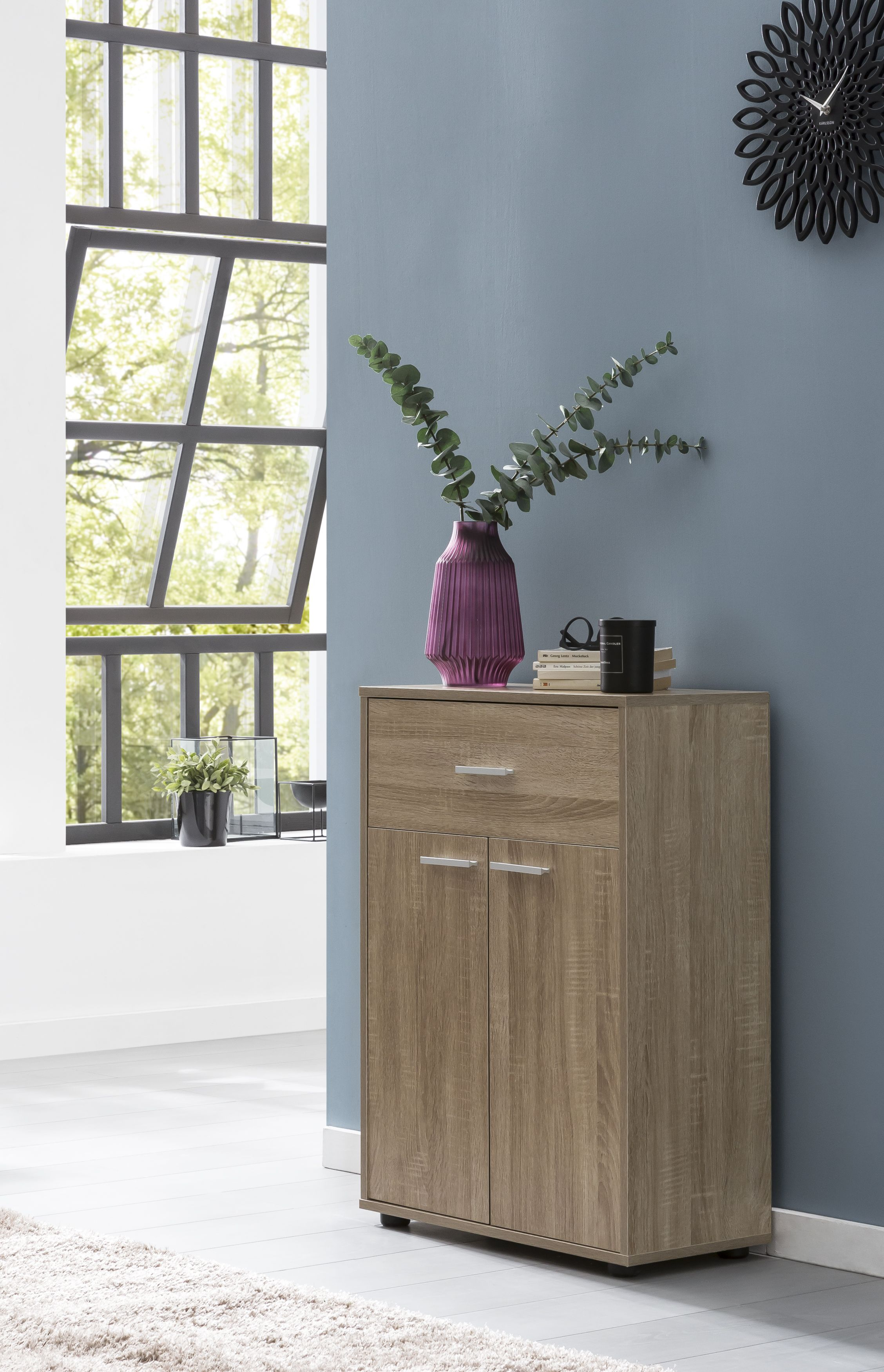 Wohnling Sideboard Sonoma Eiche Wl5 883 Commode