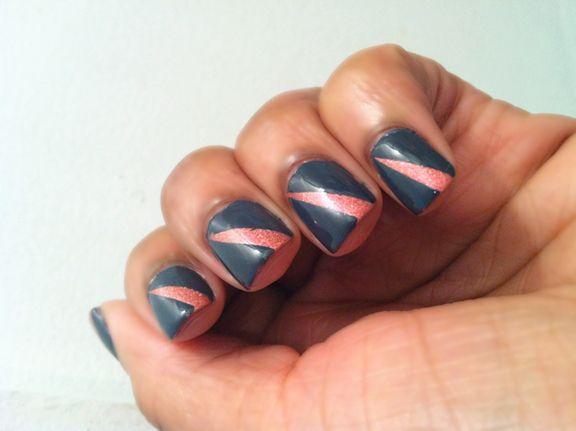 peek-a-boo nails