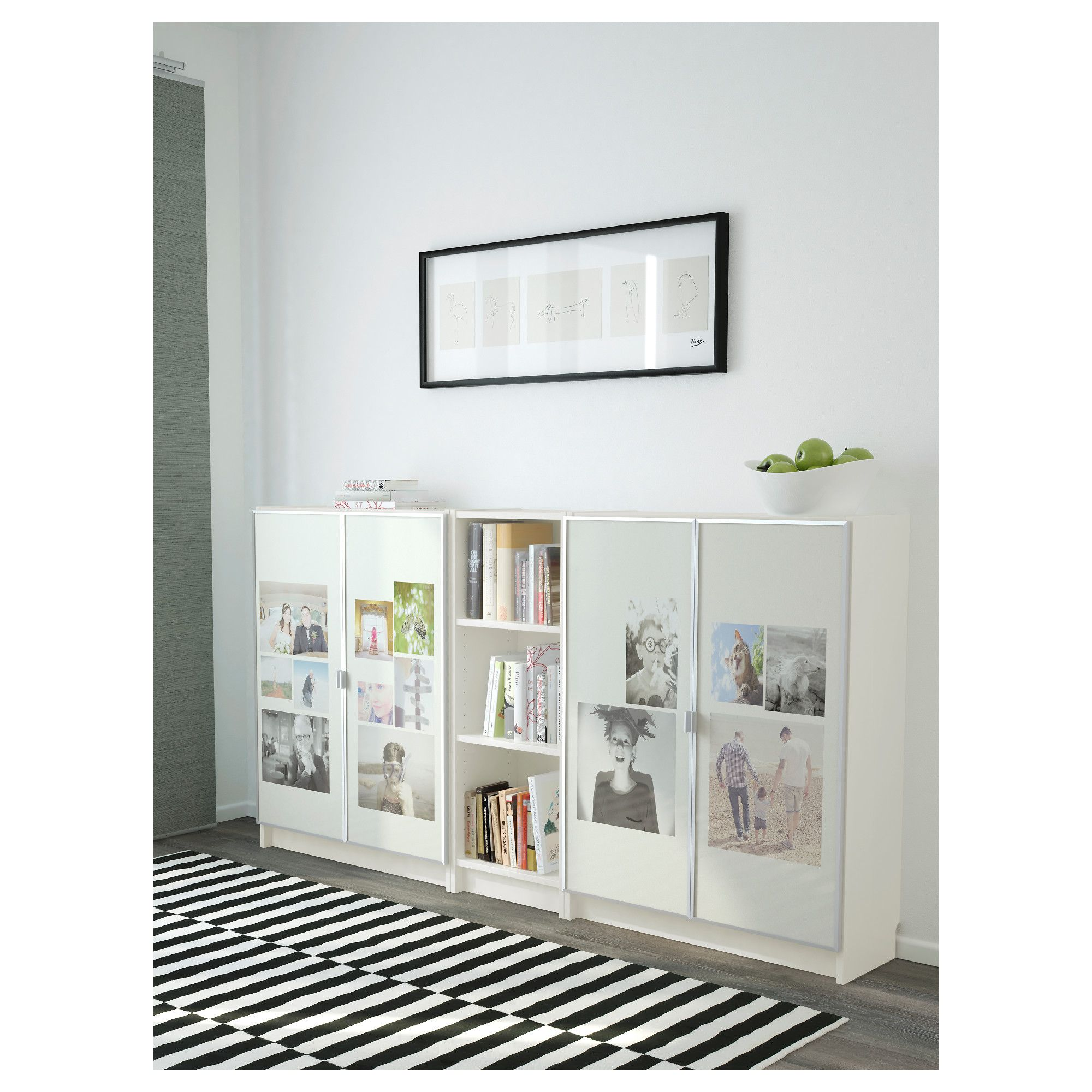 Ikea Billy Morliden Bookcase White Products Ikea