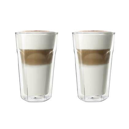 Leopold Vienna Dubbelwandig Latte Macchiato Glas 0,28 L - 2 st. #lattemacchiato