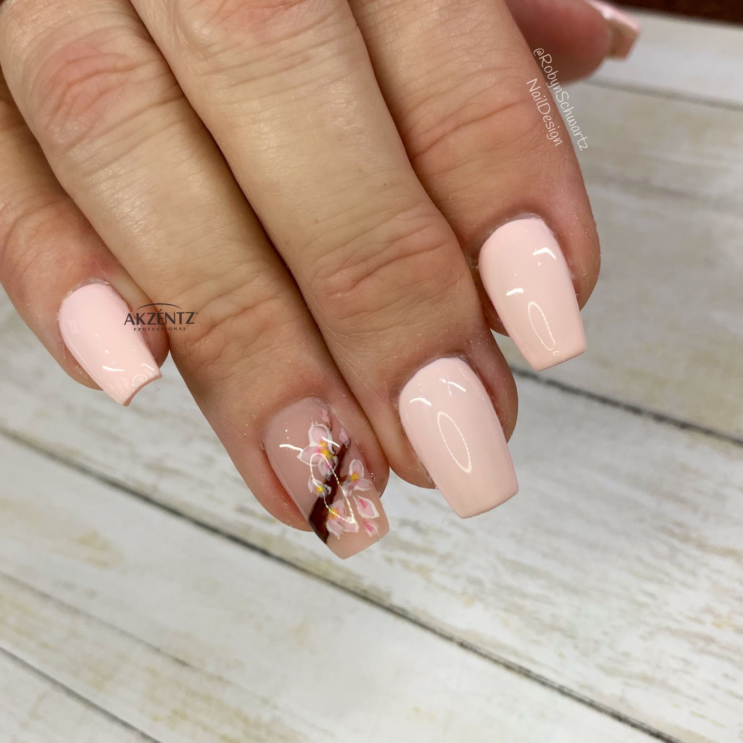 Pin On Flower Nails