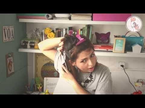 {tutorial} Como cortar seu cabelo sozinha sem diminuir o tamanho - YouTube