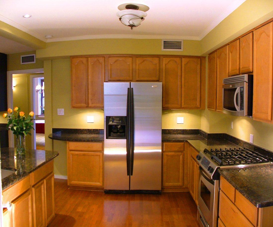 kitchen cabinet remodel ideas   Home design   Pinterest   Galley ...