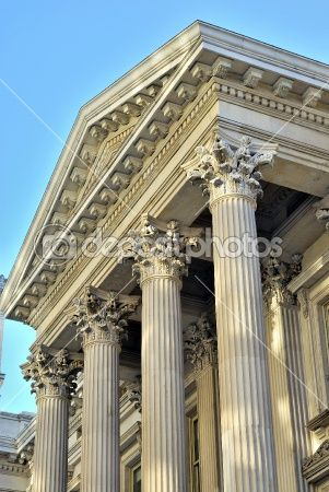 Neoclassical Architecture Architecture That Was Inspired By Greek And Roman Buildings And Was Popular In The 18th And 19th Cent Arkitektur Arkitektur Detaljer