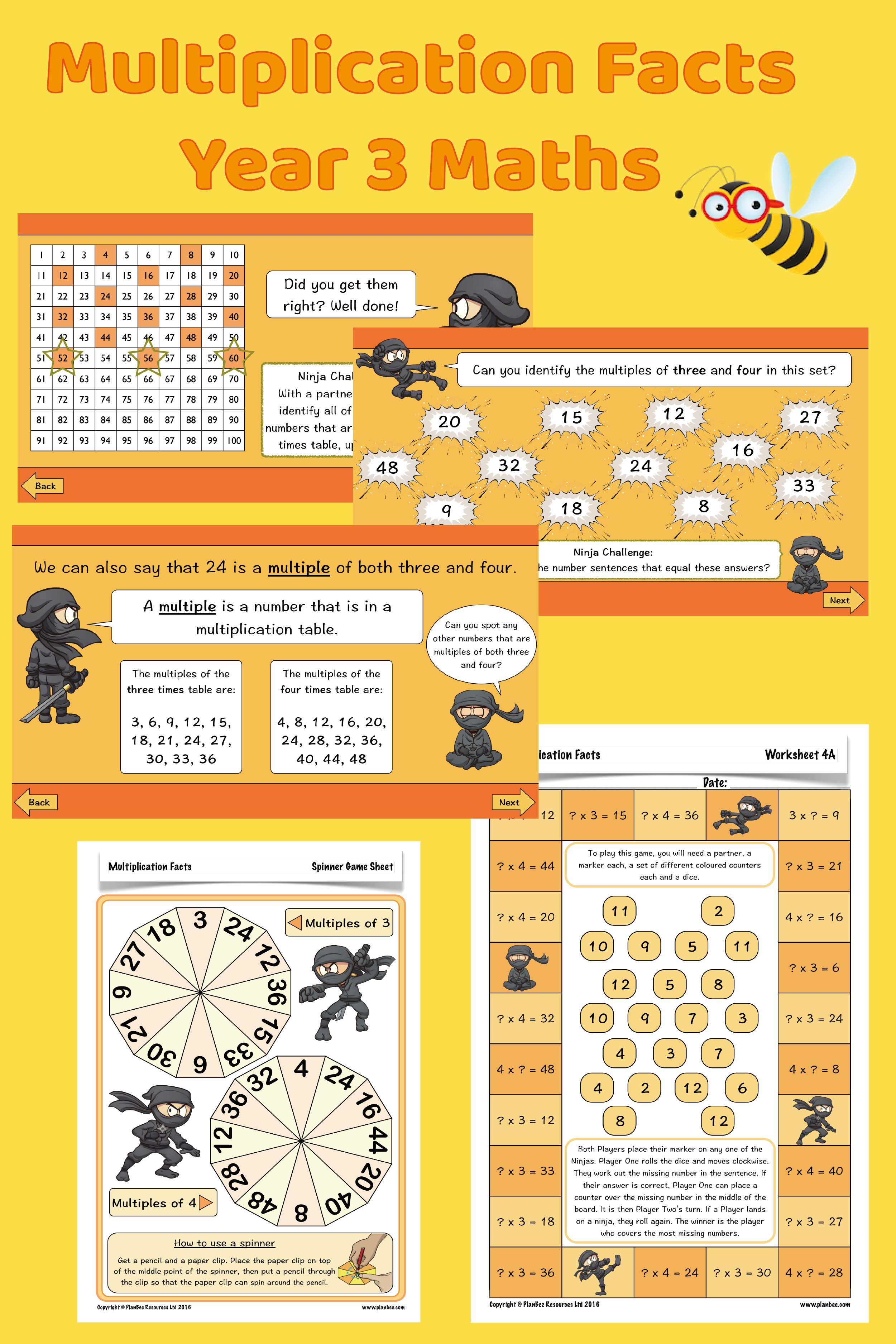 Multiplication Facts