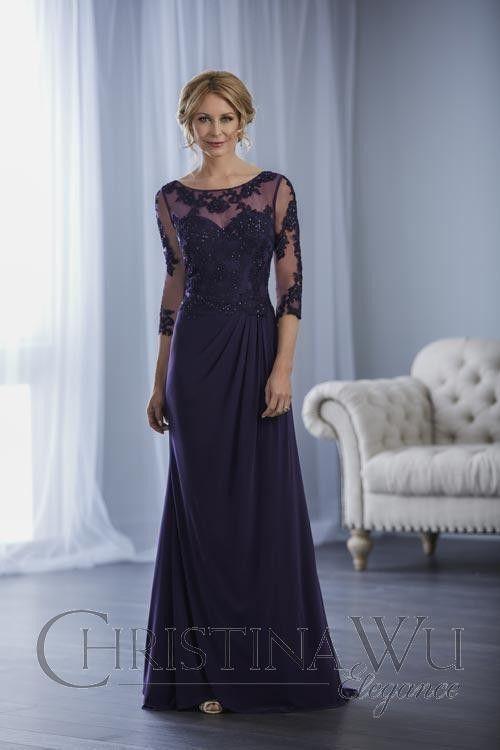 Christina Wu 17854 Evening Dress Mother Of The Bride Dresses