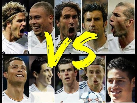Real Madrid Los Galacticos - YouTube