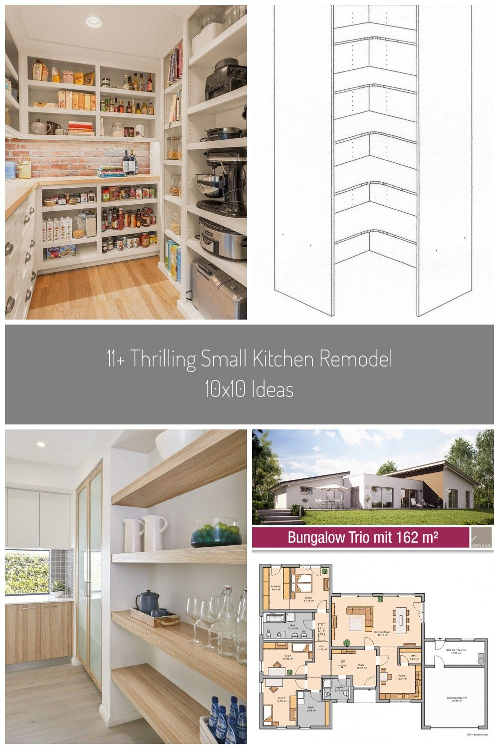 Incredible Small Kitchen Remodel 10…