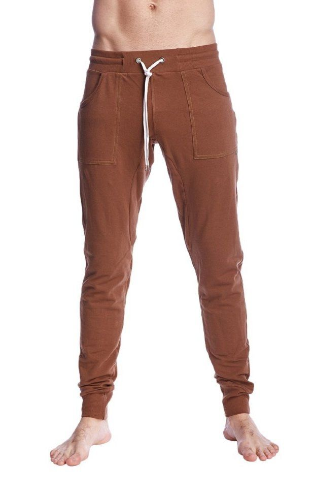 644b4de714 Brown Joggers, Cuffed Joggers, Jogger Pants, Eco Clothing, Extra Fabric,  Pattern
