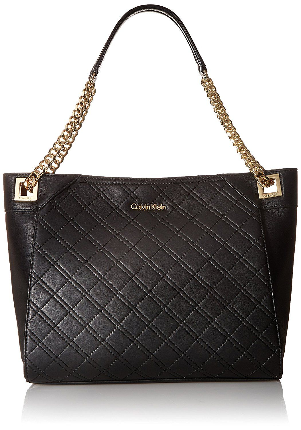 5146d354ae0 Calvin Klein Permanent Quilted Lamb Tote >>> Trust me, this is great! Click  the image. : Shoulder Handbags