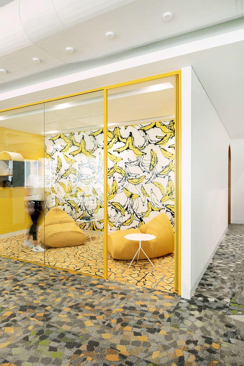 Roar Designs Pastel Hued Office Space Which Brings Cultural