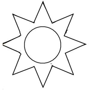 picture relating to Sun Template Printable identified as Printable Sunlight Designs sunlight template. oneself can seek the services of (: x