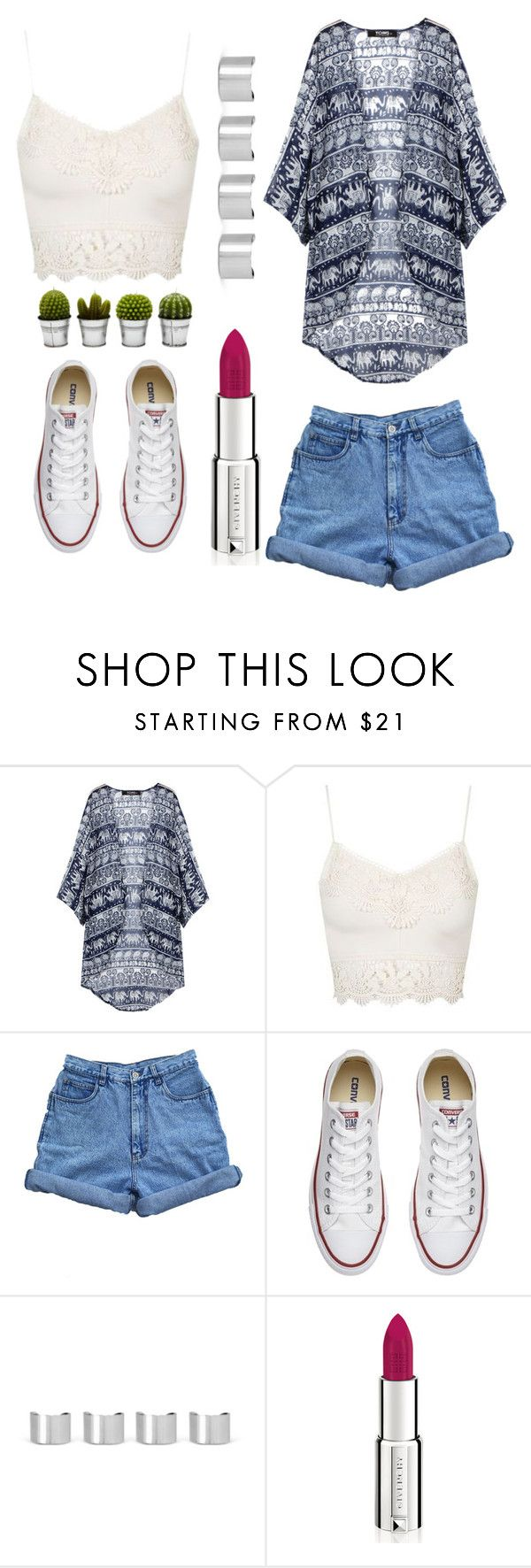 """""""Boho"""" by jaialee0304 ❤ liked on Polyvore featuring Topshop, Bill Blass, Converse, Maison Margiela, Givenchy and Billabong"""