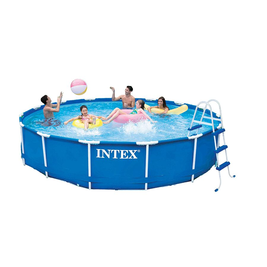 Pool With R Intex 15ft X 36in Metal Frame Pool Toys R Us Australia Outdoor