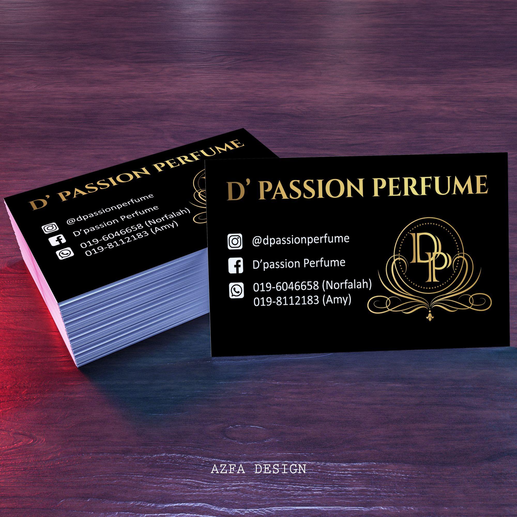 Azfadesign Bisneskad Bisnes Kad Bisnes Kad Belum Ada Lagi Ke Akak Abang Memang K Passion Perfume Book Cover Cards