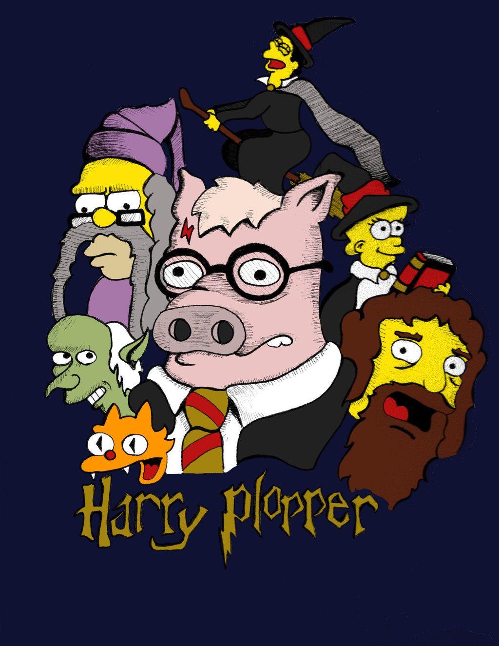 Harry Plopper Harry Vault Boy The Simpsons