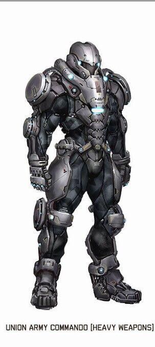 Armure Futuriste 피통이 너무 큰 유닛 | armure futuriste