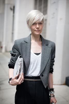 Great Look Women Over Fifty Letting Their Grey Hair Down White