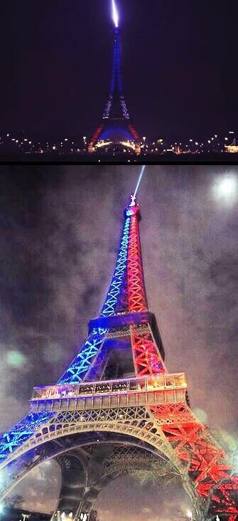 The Eiffel Tower When France Football Club Paris Saint Germain Won The France League Eiffel Tower Tower Paris Saint Germain