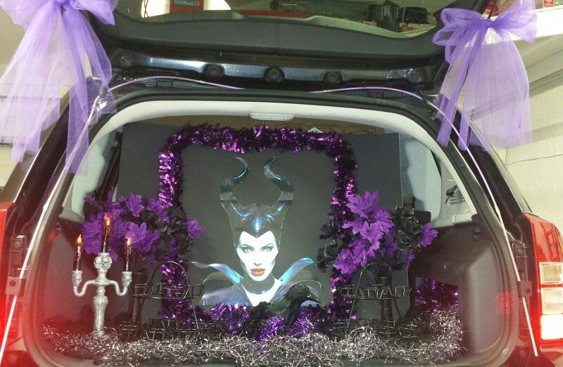 Maleficent Trunk Or Treat