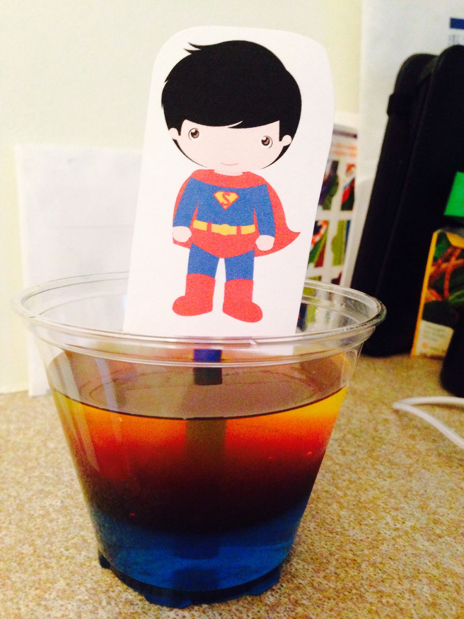 PreK class birthday snack jello snacks