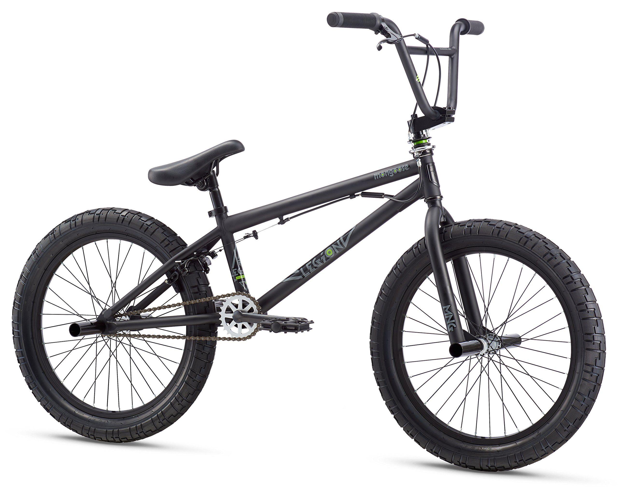 Mongoose Legion L20 20 Wheel Freestyle Bike Black One Size