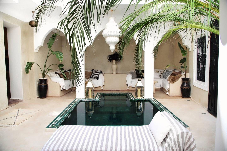 Riad shiraz riad priv avec piscine maisons louer - Location maison avec piscine marrakech ...