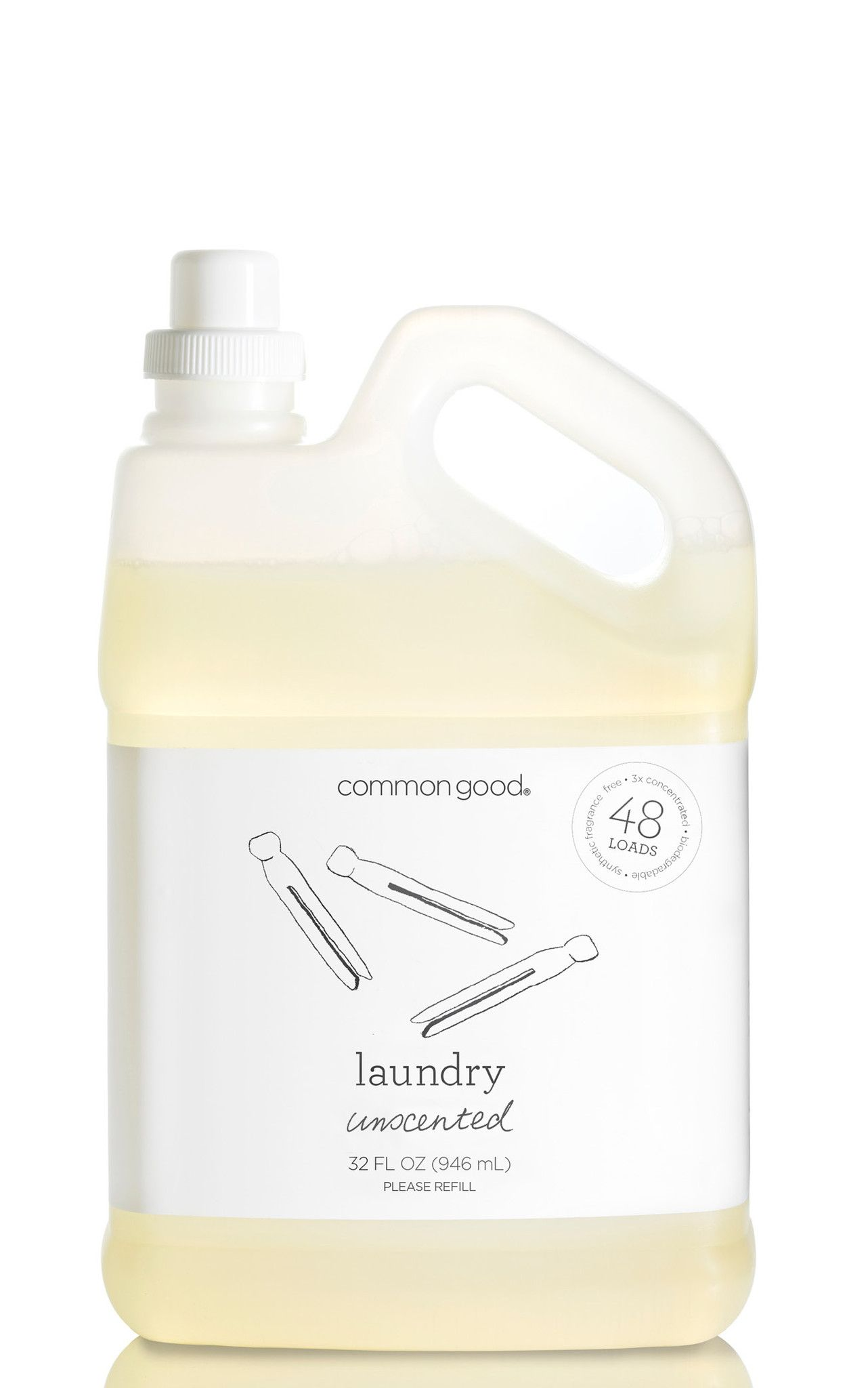 Common Good Laundry Detergent Natural Laundry Detergent Laundry