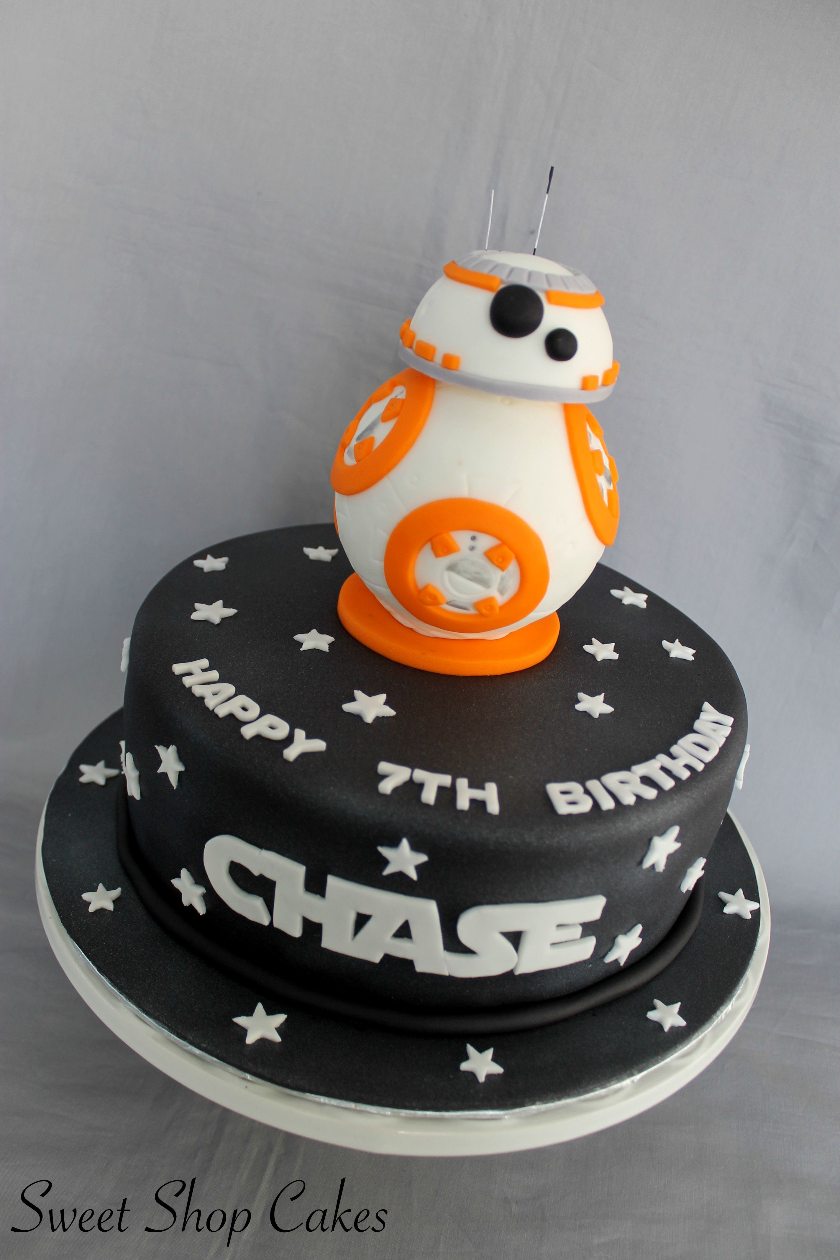 Star Wars Bb8 Cake With Images Star Wars Birthday Cake Star