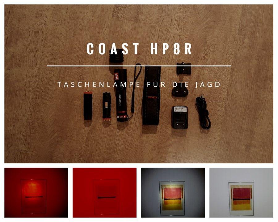 Produkttest Coast Portland Hp8r Fokustaschenlampe Fur Die Jagd Lampen Taschenlampe Jagd