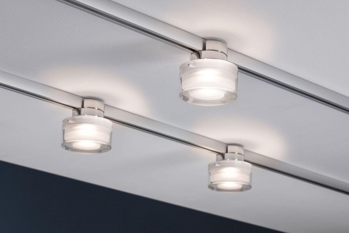 Neue Urail Led Lampen Fur Dein Schiensystem Dezent Elegant Perfekte Beleuchtung Diese Deckenlampe Lasst Sich Ganz Paulmann Led Paulmann Urail Led Spots