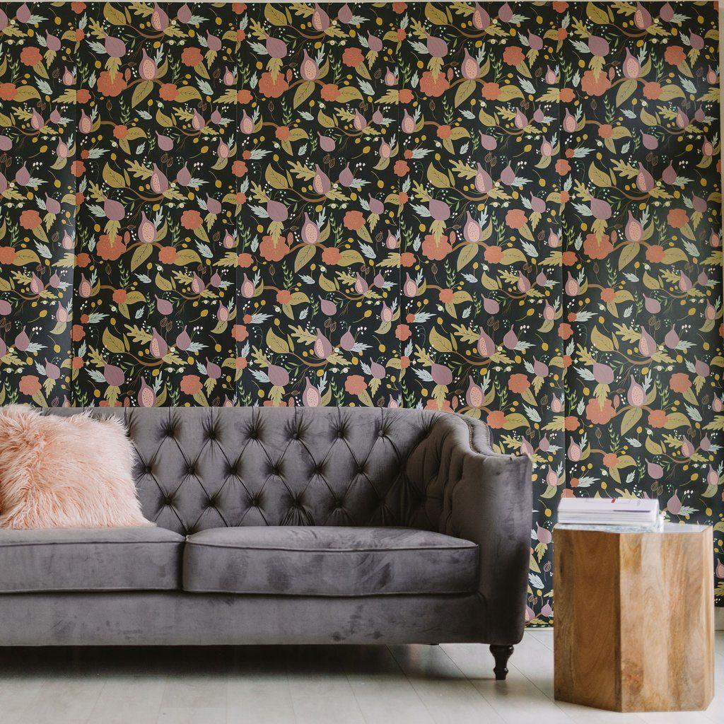 Mulberry Wallpaper Wallpaper, Pattern wallpaper