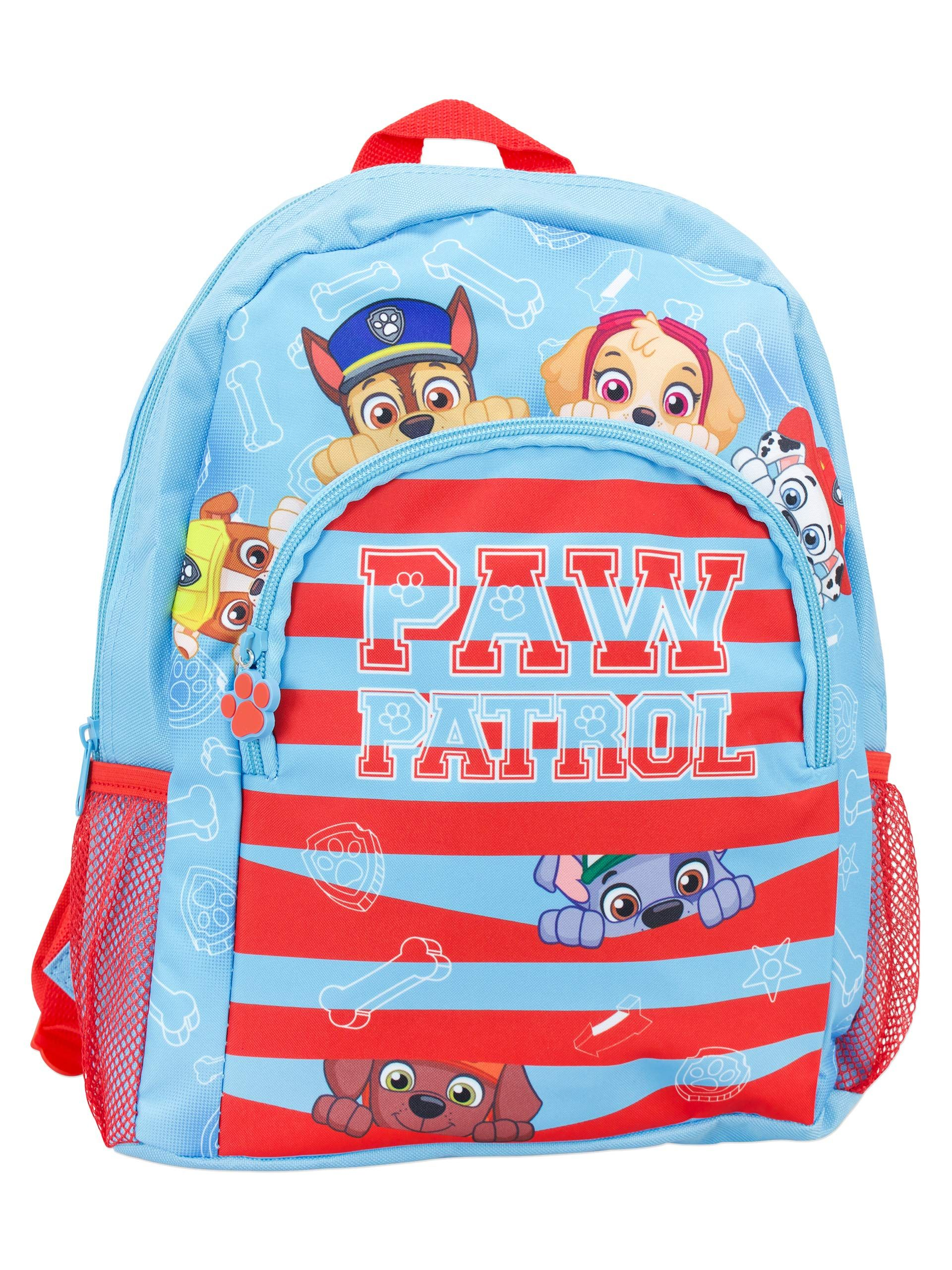 "16/"" Paw Patrol School Backpack Detachable Insulated Lunch Bag Pups Take Flight"