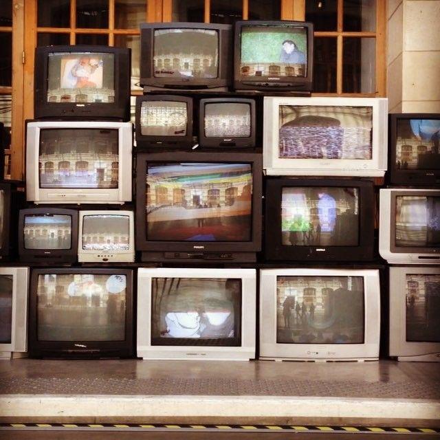 #CentQuatre #Paris 📺 #retro #television